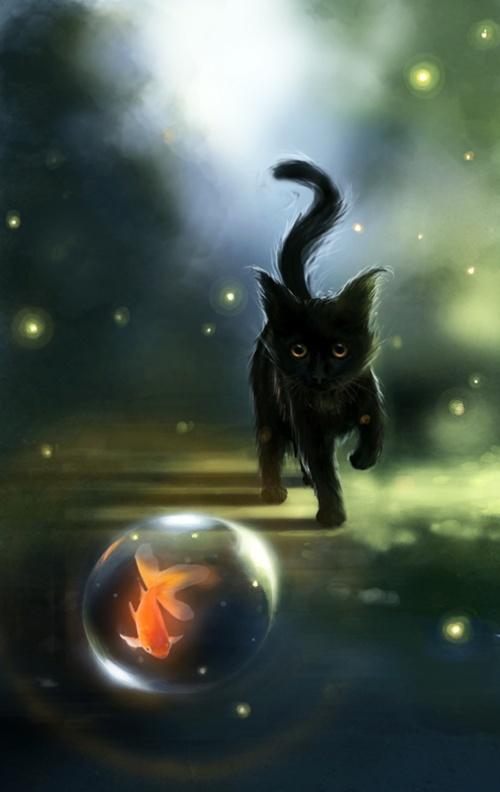 Котята / Cats by Apofiss (16 работ)
