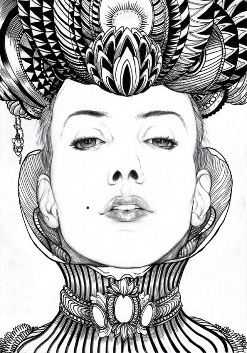Inspiring Drawing and Illustration Projects (62 работ)