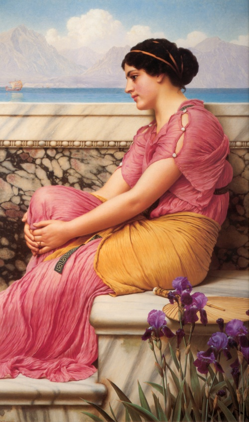 Работы художника Godward John William (119 работ)