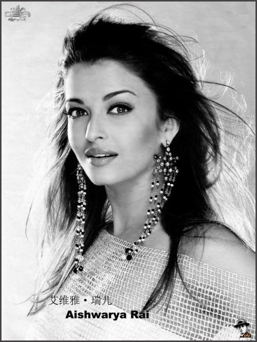 Индийская актриса, модель, Мисс мира и просто красавица Айшвария Рай.