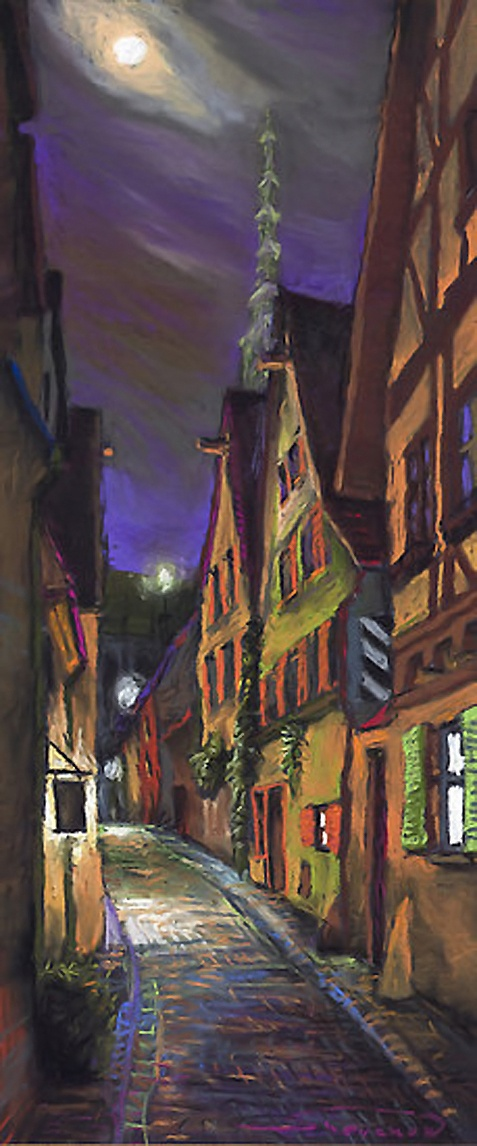 Городской пейзаж художника Юрия Шевчука (185 работ)