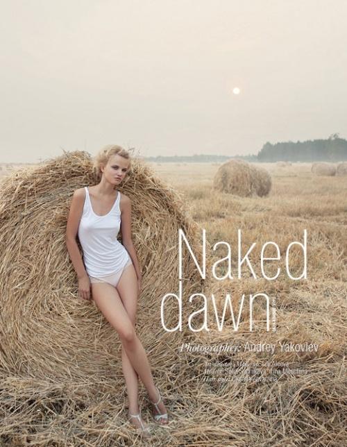 Naked dawn. Andrey Yakovlev & Lili Aleeva (16 фото) (эротика)