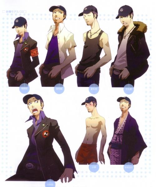 Shin Megami Tensei - Persona 3 Japanese Artbook (92 работ)