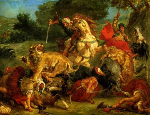 Эжен Делакруа | XIXe | Eugene Delacroix (190 работ)