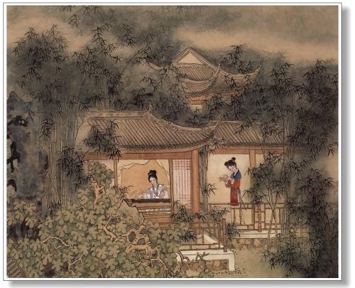 Китайская живопись. Peng Lian Xu (32 работ)