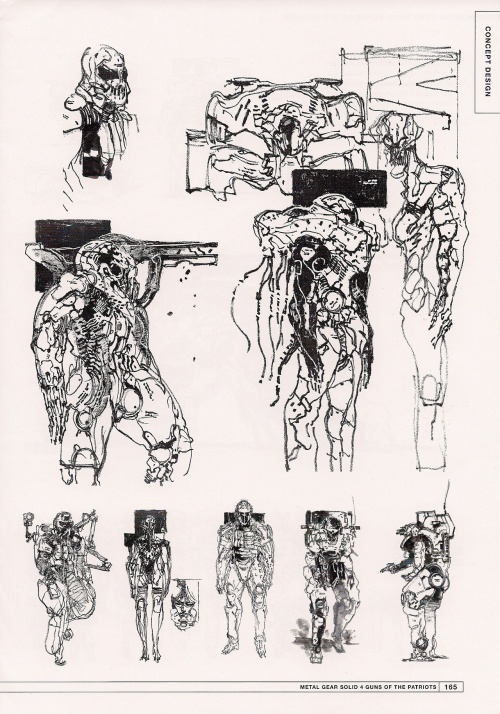 Metal Gear Solid 4 MASTER ART WORKS (199 работ)