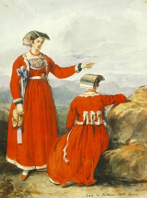 Miklos Barabas (Hungarian Painter, 1810-1898) (141 работ)