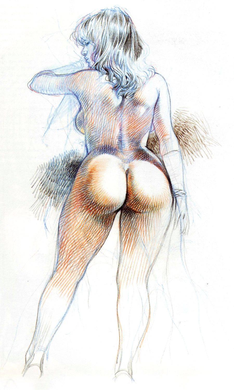 Рисунки рето эротик