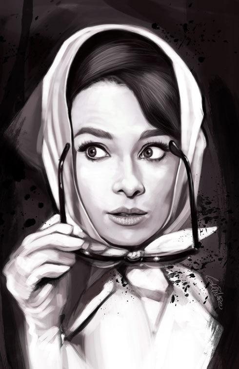 Художник Marco Calcinaro. Портреты и карикатуры (37 работ)