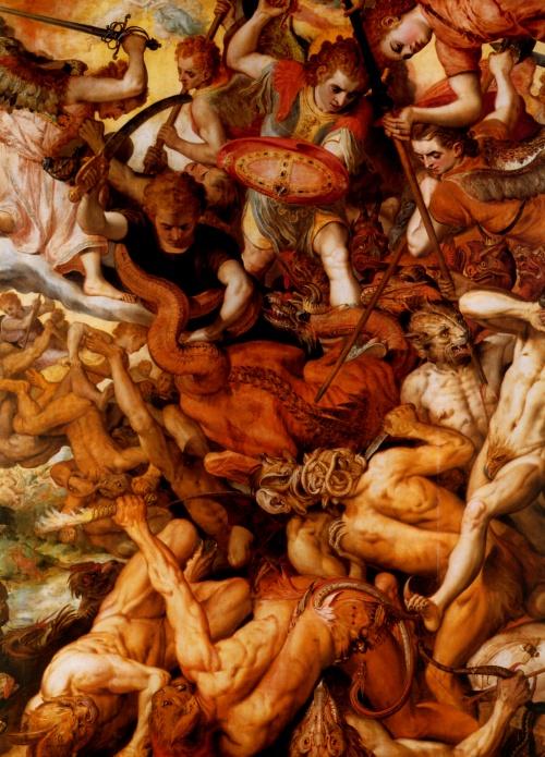 Ад и Рай в живописи | X-XXe | Hell and Paradise in painting (212 работ) (2 часть)