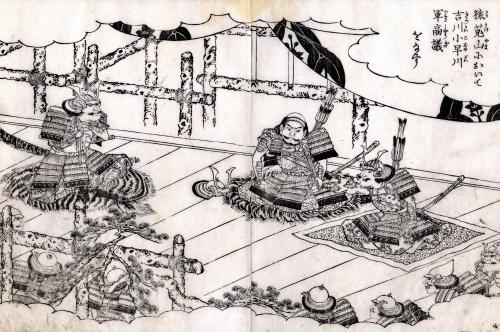Гравюры Утагава Куниёси. Самураи (34 работ)