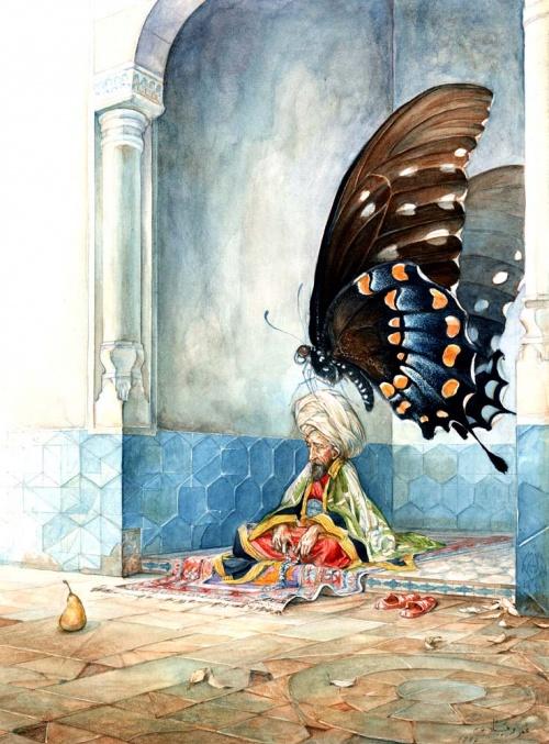 Художник-иллюстратор Omar Rayyan (133 работ)