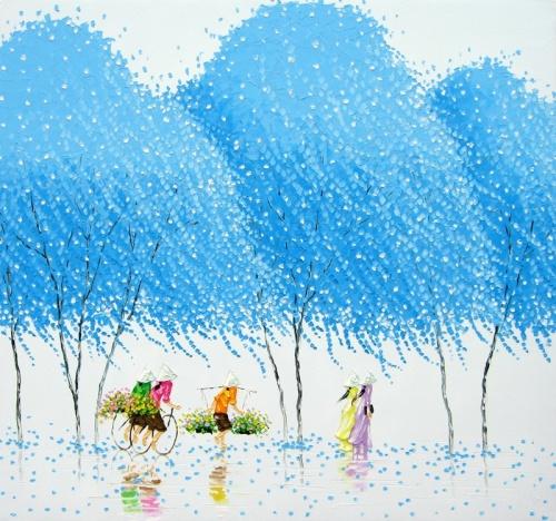 Художник Phan Thu Trang - Живопись (17 работ)