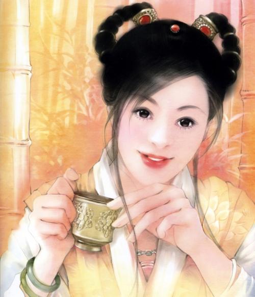 Китайские портреты девушек | Chinese Paintings of girls (65 работ)