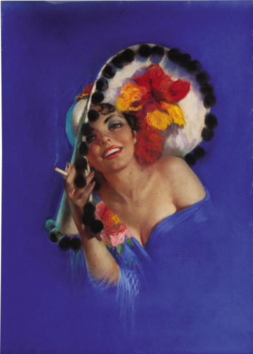Pin-up Art of Zoe Mozert (96 работ)