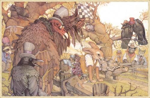 Классика детской иллюстрации от Дона Дэйли (124 работ)