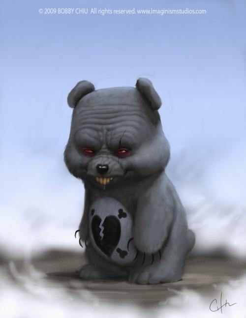 "Bobby Chiu. Concept for Tim Burton's ""Alice in Wonderland"" (33 работ)"