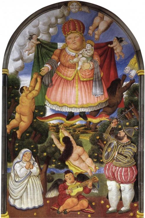 Фернандо Ботеро | XXe | Fernando Botero (177 работ) (2 часть)