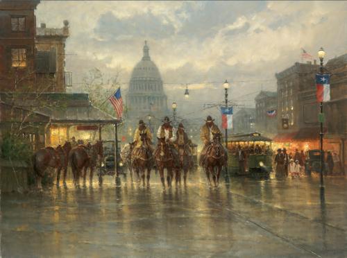 Американский художник Gerald Harvey Jones (110 работ)