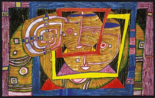 Фриденсрайх Хундертвассер | XXe | Friedensreich Hundertwasser (208 работ) (2 часть)