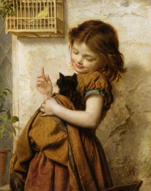 Sophie Anderson (1823-1903) (61 работ)