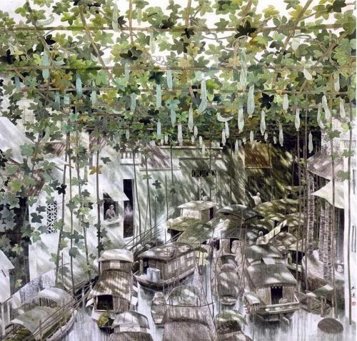 Художник Chen YuLian - Китайская живопись (14 работ)