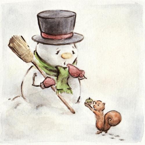 Иллюстрации от Jeanette Salvesen (Norway) (75 работ)