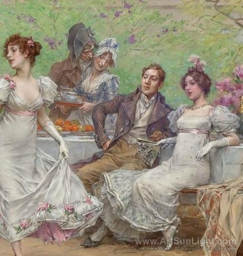 Frederick Hendrik Kaemmerer (Dutch, 1839-1902) (51 работ)