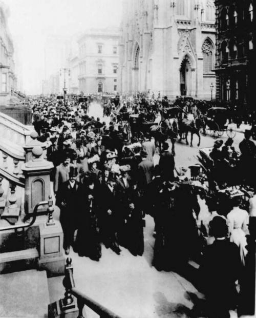 Черно-белые и цветные фотографии Нью-Йорка. 1885-2001 гг. (201 фото)