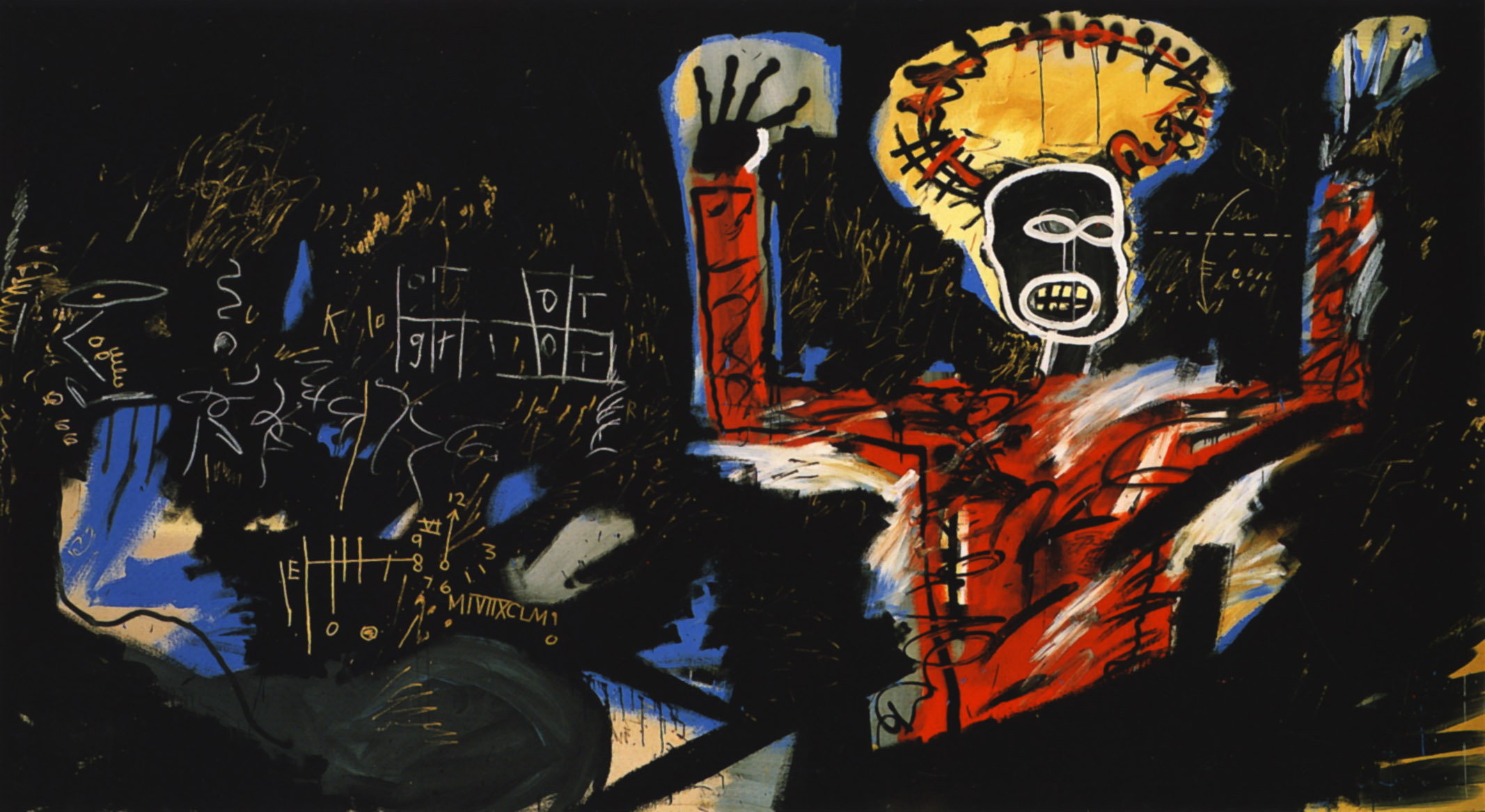 account of the life and works of jean michel basquiat