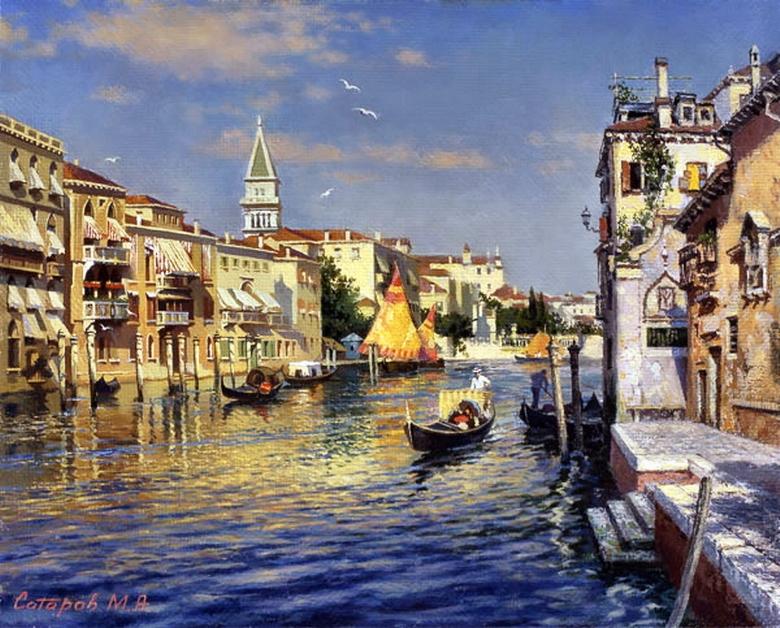 картинки художников венеция просто отступаю позволяю
