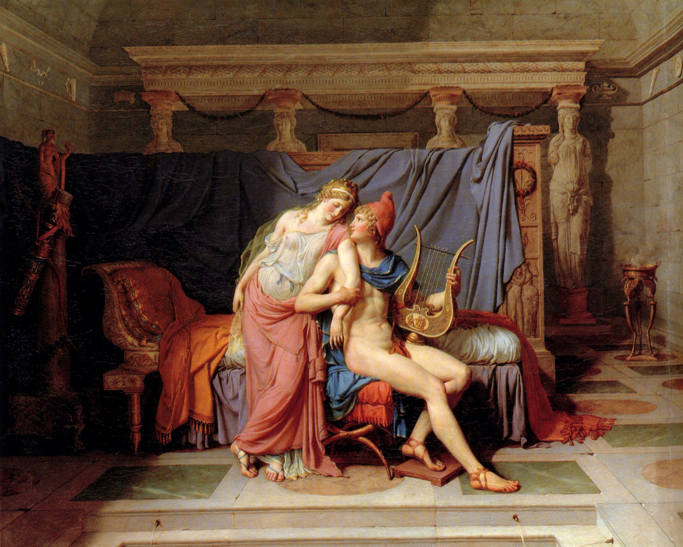 the idea of heroism in the death of socrates an oil painting on canvas by jacques louis david