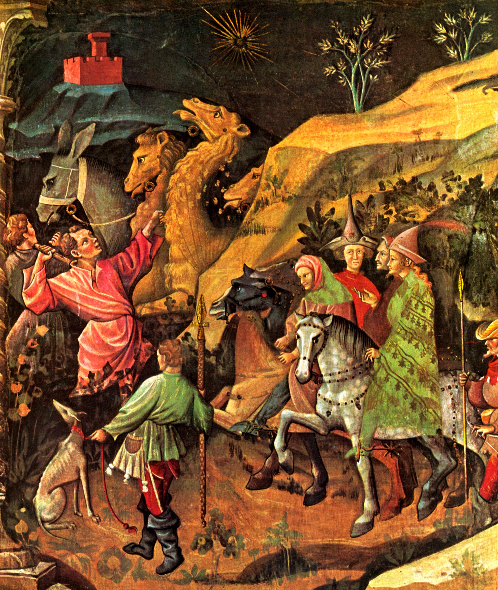 Живопись и скульптура готического периода рисунки 6