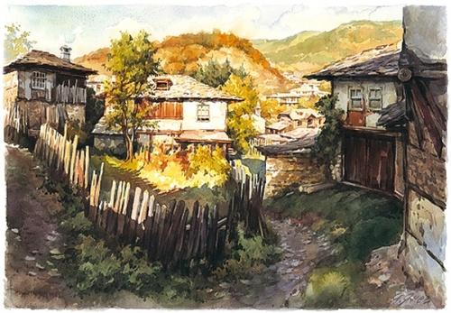 Художник Yanko Yanev - Акварель (18 работ)