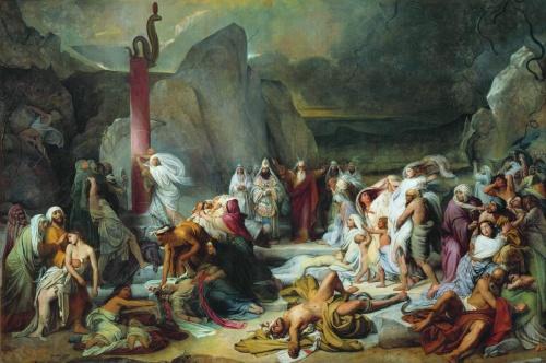 Лучшие картины русских художников конца 18 века, 19 и начала 20 веков (255 работ) (2 часть)