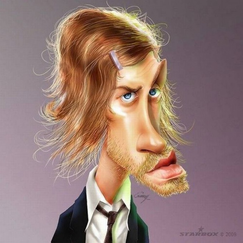 Карикатуры от Anthony Geoffroy (28 работ)