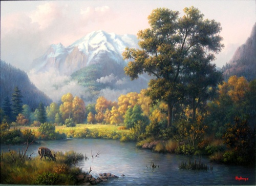 Пейзажи Windberg Dalhart (56 работ)