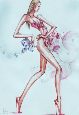 Fashion Illustrations by Elena Sofia Tinis (92 работ)