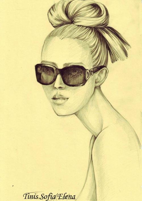 Fashion Illustrations by Elena Sofia Tinis (92 работ)