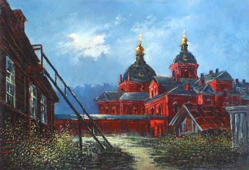 Художник Анатолий Куршин (321 работ)