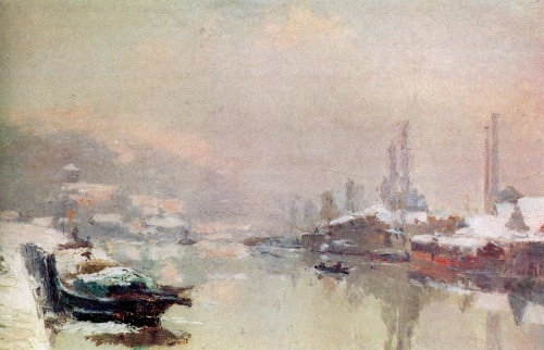 Художник импрессионист Albert-Charles Lebourg (38 работ)