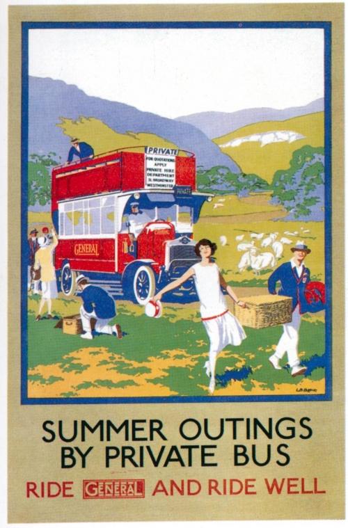 London Underground - Ретро плакаты в лондонском метро, 1908-1933 гг. (57 плакатов)