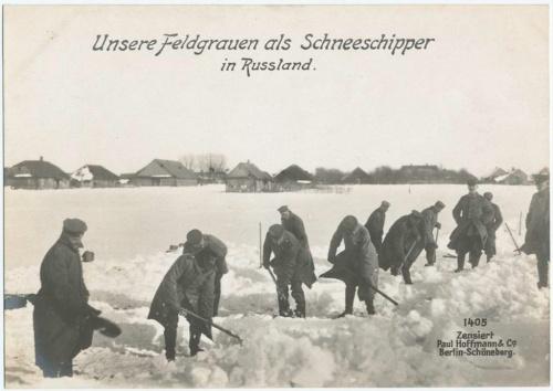 Немецкие открытки Первой мировой