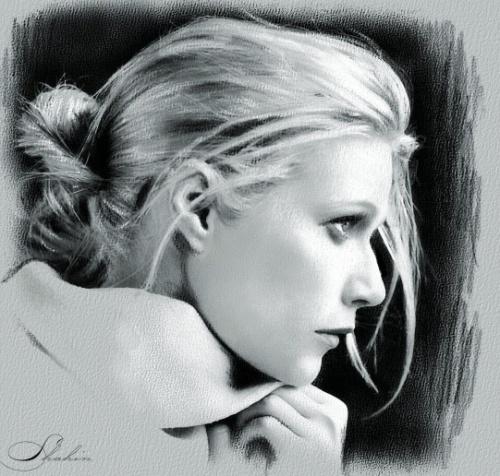 Портреты звезд от Shanin (100 работ)