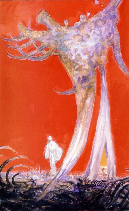 Ёситака Амано - синтез символизма и фэнтези (306 работ) (2 часть)