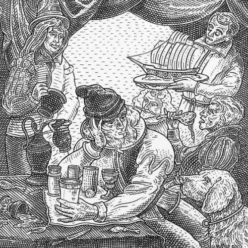 Оптический обман. Иллюзия в старинных гравюрах (33 работ)