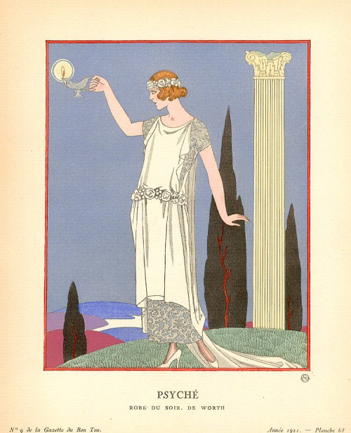 Графика французского иллюстратора Жоржа Барбье (153 работ)
