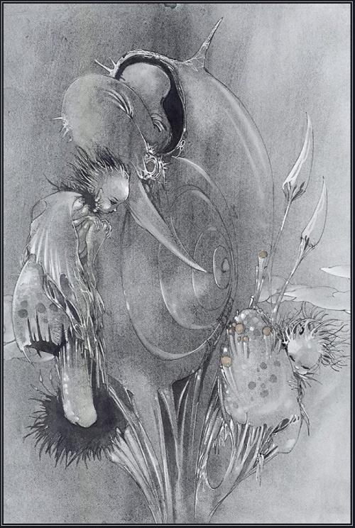 Ёситака Амано - синтез символизма и фэнтези (273 работ) (1 часть)