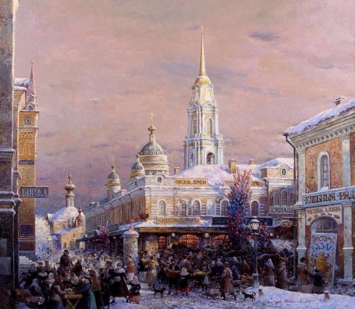 Художник Александр Шевелёв (89 работ)