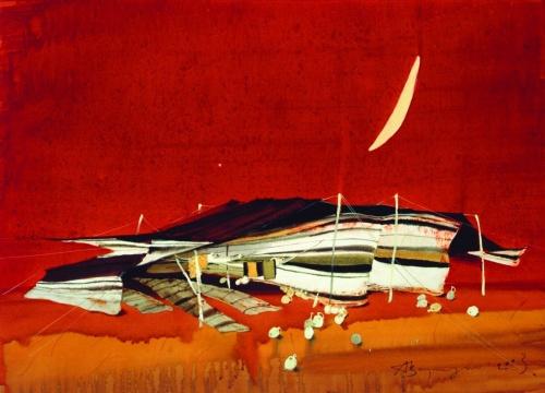 Аруш Воцмуш, акварели, сюрреализм (338 работ)